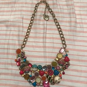 Limited addition trolls Betsey Johnson necklace